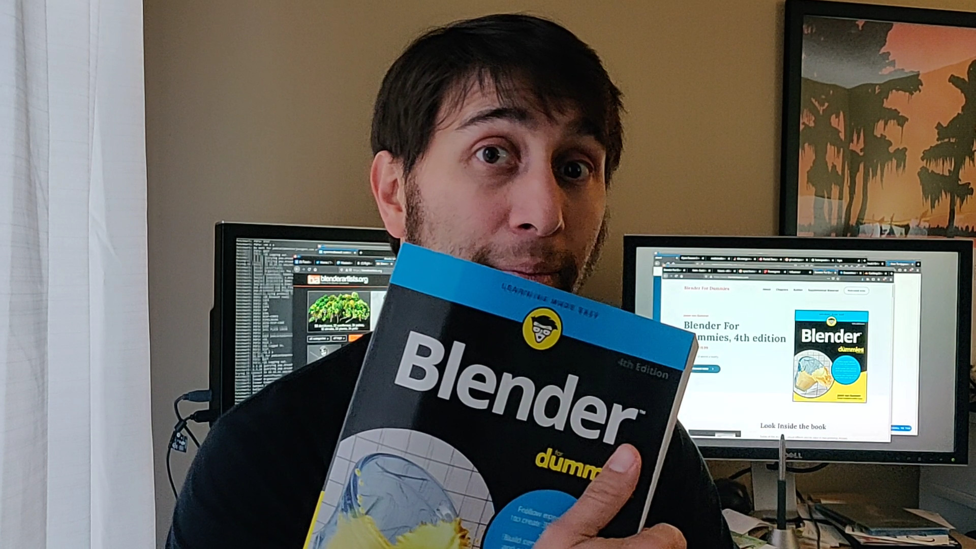 Blender For Dummies, 4th edition: It's out!